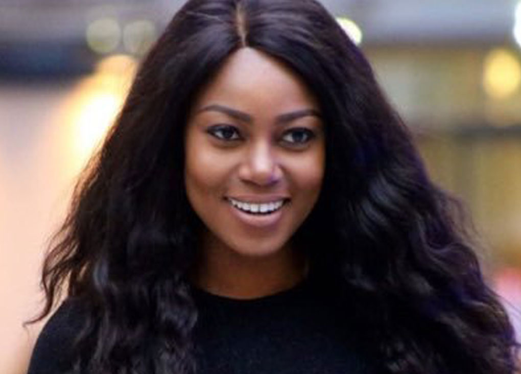 Yvonne Nelson Shows Her Baby's Face For The First Time